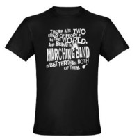 Marching Band Men's Fitted T-Shirt (dark)> Funny Marching Band T-shirts and Gifts> www.cafepress.com/milestonesmusic - Music Tshirts