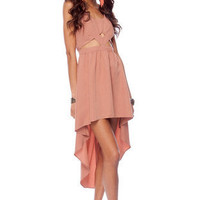 Keepsake New Beat Dress in Cinnamon :: tobi