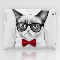 Grumpy Nerd, Tardar Sauce Poindexter Cat  iPad Case by Olechka | Society6