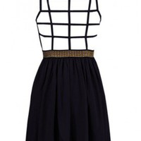 The Milan Black Evening Back Dress - 29 N Under