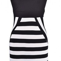 The Black & White Night Dress - 29 N Under