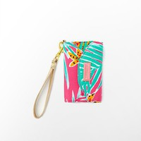 Lilly Pulitzer - Ring Me Up Wristlet Print