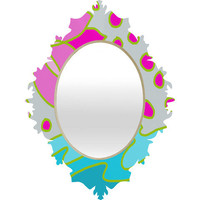 DENY Designs Home Accessories | Paula Ogier Lotus Pond Baroque Mirror