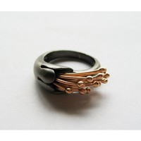 Flower Pistil Ring