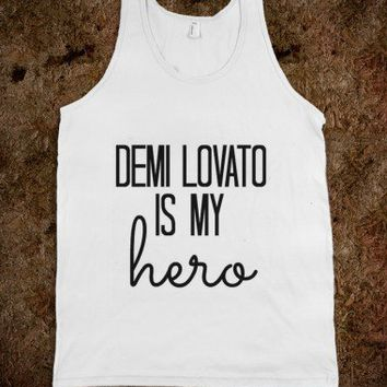 Demi Lovato is my hero - Tank Top