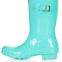 HUNTER Short Gloss Wellies - New In This Week - New In - Topshop USA