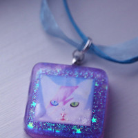 David Meowie - Cat Necklace (Sweet Panda Creations + Funky Catsterz) from Funky Catsterz