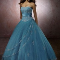 Tulle Straight Neckline Hot Sell Quinceanera [dressnl3554] - $167.00 : dressnl.com, Prom Dresses Holland online shop