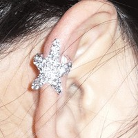accessoryinlove  Fashion Sparkly Starfish Ear Cuff