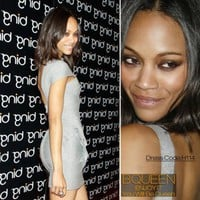 Zoe Saldana in H114 Dress - Celebrity Dresses - Apparel