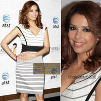 Eva Longoria in K204E Dress - Celebrity Dresses - Apparel
