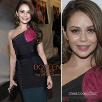 Alexis Dziena in H128Z1 Dress - Celebrity Dresses - Apparel