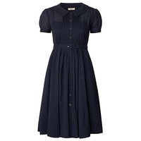 Orla Kiely - Solid Silk Georgette Tea Dress