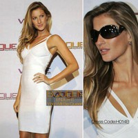 Gisele Bundchen in H014B Dress - Celebrity Dresses - Apparel