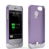 Amazon.com: Maxboost Fusion Detachable External iPhone 5 Battery Case - White/Purple , Fits All Versions of iPhone 5 - Lightning Connector Integrated: Sports & Outdoors