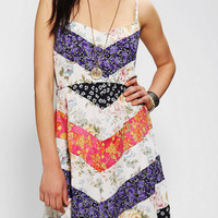 Urban Renewal Blossom Chevron Dress
