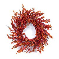 24-in. Berry Wreath | www.hayneedle.com