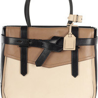 Reed Krakoff|Boxer 1 tri-tone leather tote|NET-A-PORTER.COM
