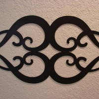Ornamental Heart Metal Wall Art