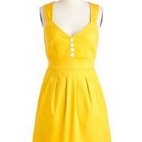 Sundress of My Life | Mod Retro Vintage Solid Dresses | ModCloth.com