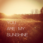 You Are my Sunshine Stretched Canvas | Print Shop