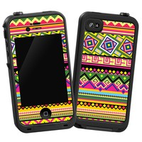 Latin American Tribal Skin for LifeProof 4/4S Case