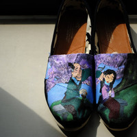Disney Mulan Design and Shoes of your choice by Sophiescustomshoes