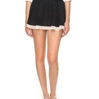 Colorblock Pleated Skirt | FOREVER21 - 2000005956