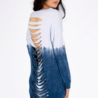 Back Slash My Ombre Shirt $42