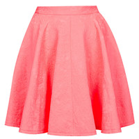 Jacquard Full Swing Skirt - Skirts - Clothing - Topshop