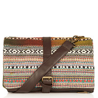 Aztec Stripe Crossbody Bag - New In This Week - New In - Topshop