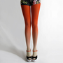 BZR Ombr tights in Sunset