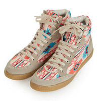 TEEPEE2 Aztec Hi-Tops - Style Nomad  - We Love