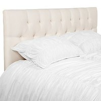 Edward Headboard - Parchment Silk | Headboards | Bedroom | Furniture | Z Gallerie