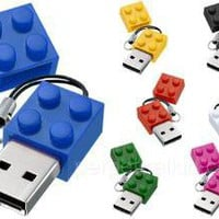 4GB Building Block USB Flash Drive