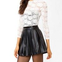 Floral Lace Top | FOREVER 21 - 2021667803