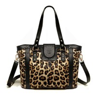Sexy Leopard Print Shoulder Bag