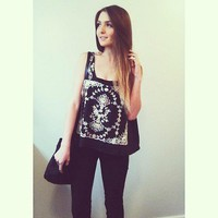 User Submitted Style Pics for FP X Flower Garland Tank at Free People