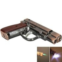 Stylish Pistol Shape Cigarette Lighter Copper: Kitchen &amp; Dining