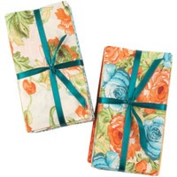 "Fabric Fat Quarters Vintage Floral Fabric Bundle Asst 21"" Wide 100% Cotton 1/4 Yard Cuts"
