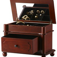 Essex Jewelry Box - Jewelry Organization - Storage &amp; Organization - Storage &amp; Display | HomeDecorators.com