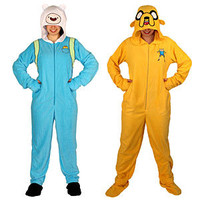 Adventure Time Footie Union Suit -