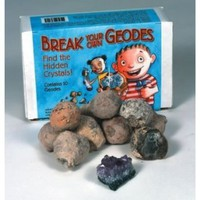 Amazon.com: Break Your Own Geodes (Box of 10): Toys & Games