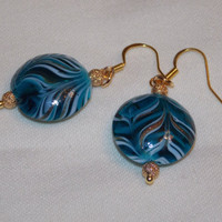 Blue Starry Night Earrings