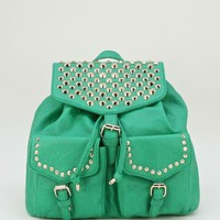 Spike Studded Backpack