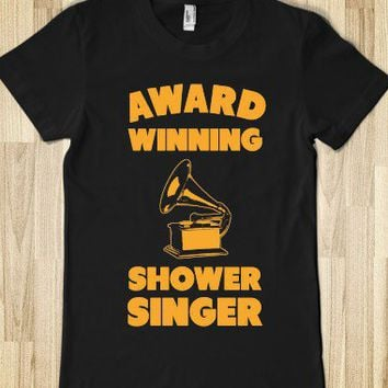 Award Winning Shower Singer