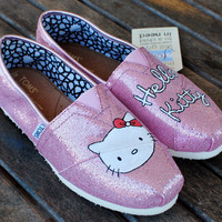 Hello Kitty TOMS by BStreetShoes on Etsy