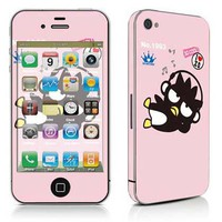 Free shipping vinyl decal stickers for iPhone 4 / iPhone 4S cover #0601