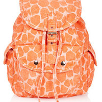 Denim Giraffe Backpack - Bags &amp; Wallets  - Bags &amp; Accessories