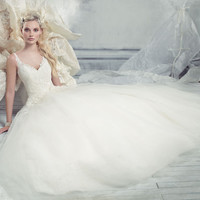 Bridal Gowns, Wedding Dresses by Alvina Valenta - Style AV9301